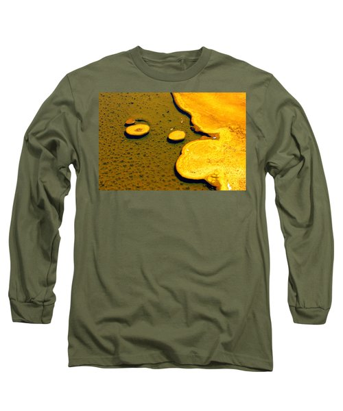 Natural Abstract Long Sleeve T-Shirt