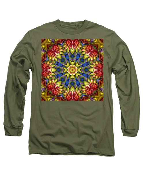 Natural Attributes 06 Square Long Sleeve T-Shirt by Wendy J St Christopher