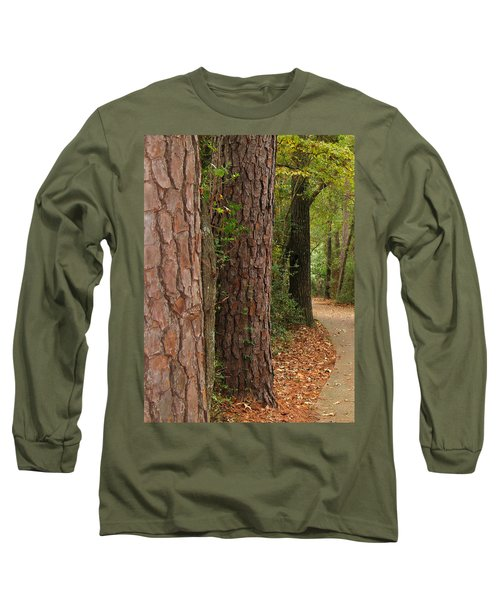 Natural Beauty Long Sleeve T-Shirt by Connie Fox