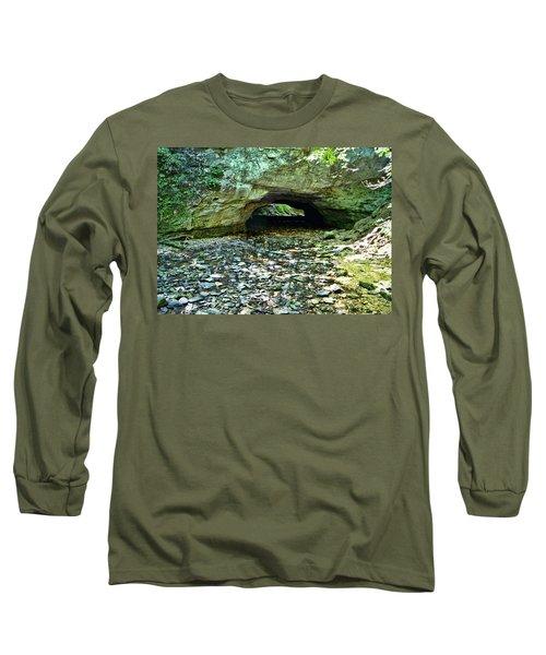 Natural Rock Bridge Long Sleeve T-Shirt