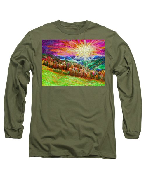 Nature 1  25 2015 Long Sleeve T-Shirt by Hidden  Mountain