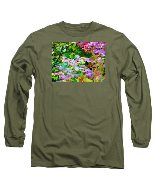 Nature Spirit Long Sleeve T-Shirt by Oleg Zavarzin