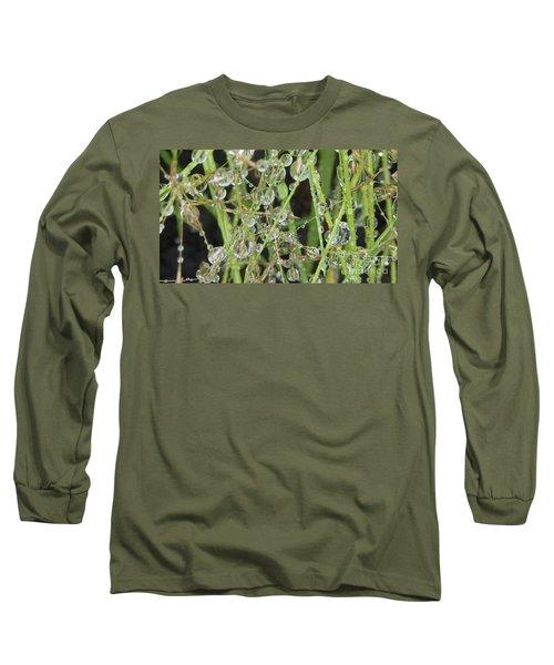 Natures Diamonds Long Sleeve T-Shirt by Susan Garren