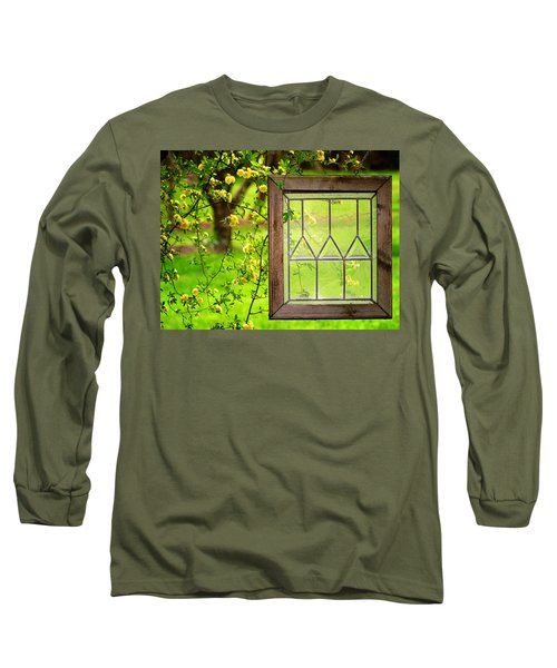 Long Sleeve T-Shirt featuring the photograph Nature's Window by Greg Simmons
