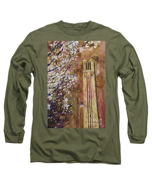 Ncsu Bell Tower Long Sleeve T-Shirt