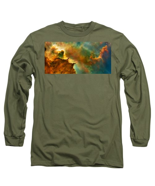 Nebula Cloud Long Sleeve T-Shirt by Jennifer Rondinelli Reilly - Fine Art Photography