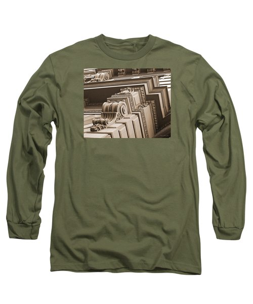 Neo-classical Architecture Long Sleeve T-Shirt