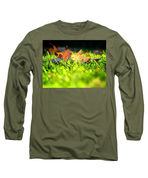 Long Sleeve T-Shirt featuring the photograph Nestled by Greg Simmons