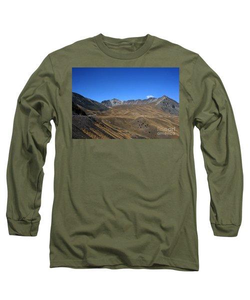 Nevado De Toluca Mexico Long Sleeve T-Shirt