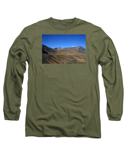 Nevado De Toluca Mexico Long Sleeve T-Shirt