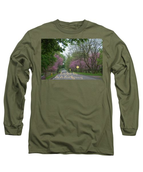 Long Sleeve T-Shirt featuring the photograph New Beginning by Aimee L Maher Photography and Art Visit ALMGallerydotcom