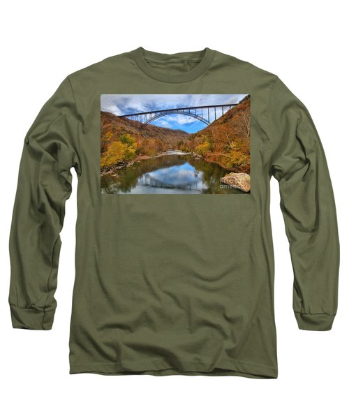 New River Gorge Reflections Long Sleeve T-Shirt