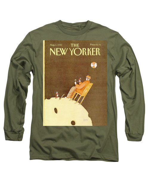 New Yorker August 6th, 1990 Long Sleeve T-Shirt
