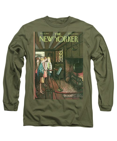 New Yorker March 23rd, 1963 Long Sleeve T-Shirt