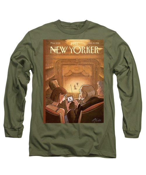 New Yorker October 19th, 1998 Long Sleeve T-Shirt