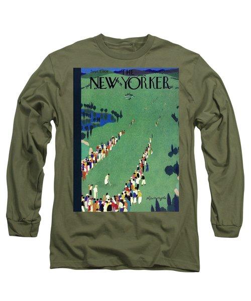 New Yorker September 5 1936 Long Sleeve T-Shirt