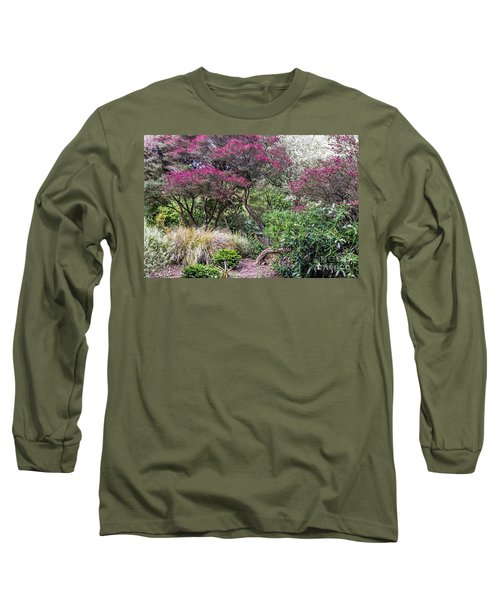 Long Sleeve T-Shirt featuring the photograph New Zealand Tea Tree II by Kate Brown