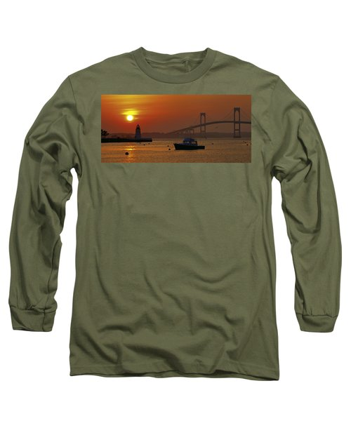 Newport Sunset Long Sleeve T-Shirt