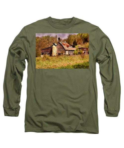 Newton Township Barn Long Sleeve T-Shirt