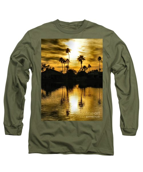 Nightfall Long Sleeve T-Shirt by Deb Halloran