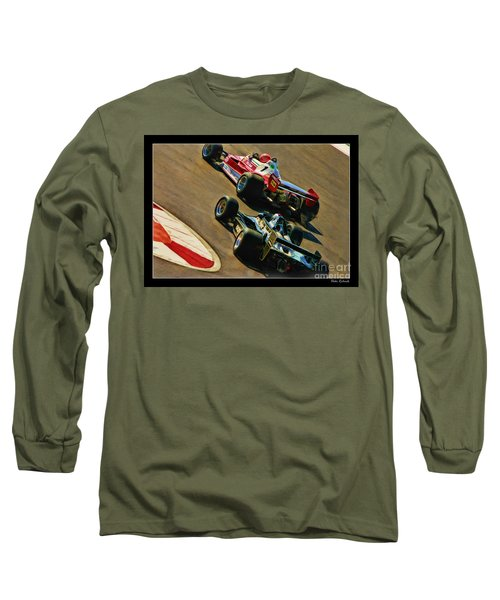 Niki Lauda Leads Mario Andretti Long Sleeve T-Shirt