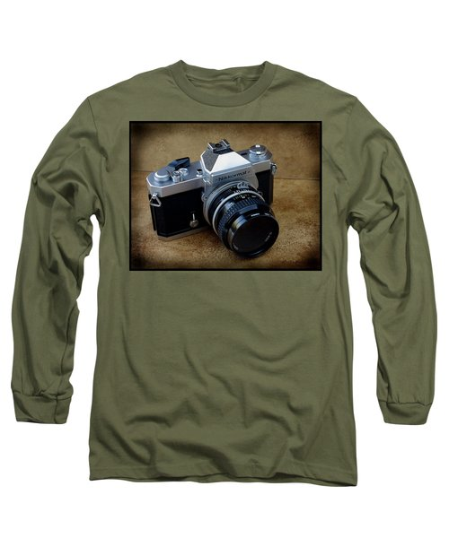Nikkormat Ft3 Camera Long Sleeve T-Shirt