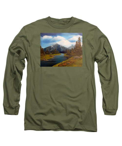 No Electronics Here Long Sleeve T-Shirt