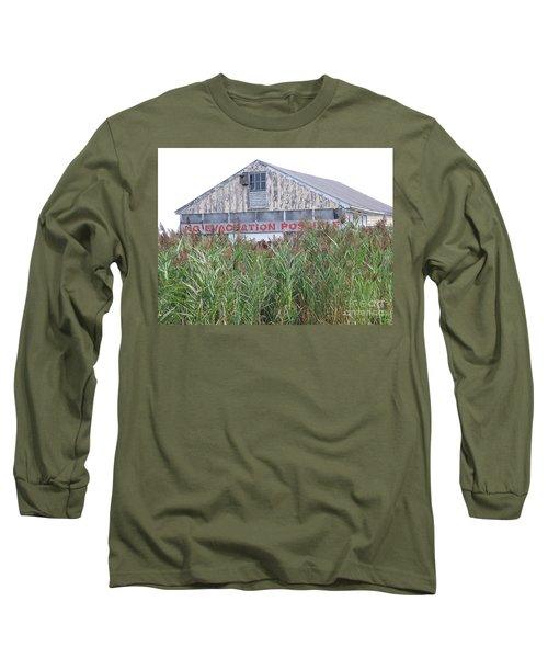 Long Sleeve T-Shirt featuring the photograph  Newburyport by Eunice Miller