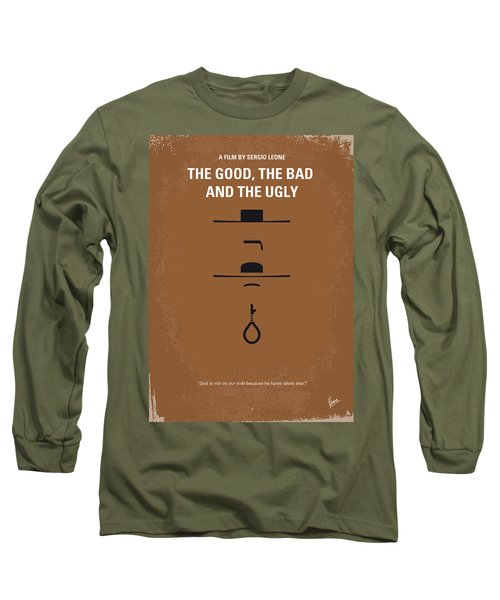 No090 My The Good The Bad The Ugly Minimal Movie Poster Long Sleeve T-Shirt