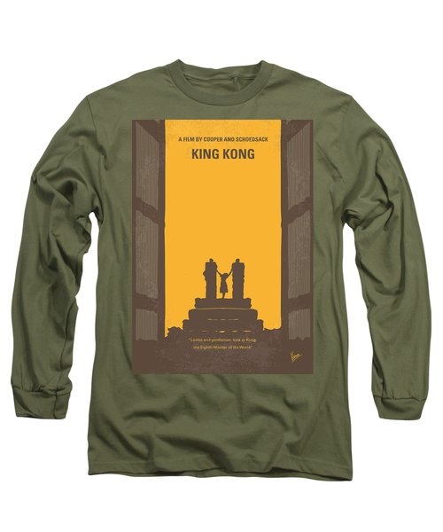 No133 My King Kong Minimal Movie Poster Long Sleeve T-Shirt