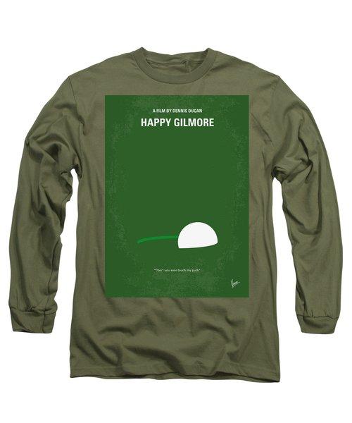 No256 My Happy Gilmore Minimal Movie Poster Long Sleeve T-Shirt