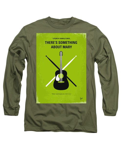 No286 My There's Something About Mary Minimal Movie Poster Long Sleeve T-Shirt