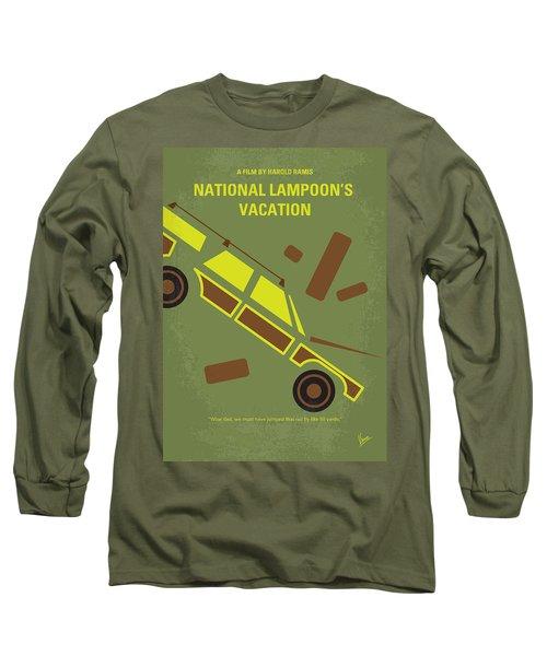 No412 My National Lampoons Vacation Minimal Movie Poster Long Sleeve T-Shirt