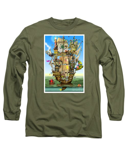 Norah's Ark Long Sleeve T-Shirt by Colin Thompson