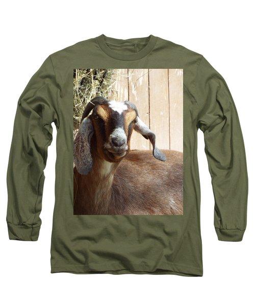 Nubian Goat Long Sleeve T-Shirt