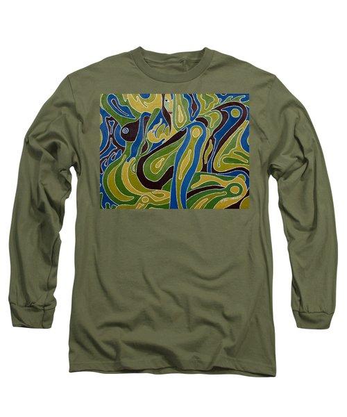 Nude3 Long Sleeve T-Shirt