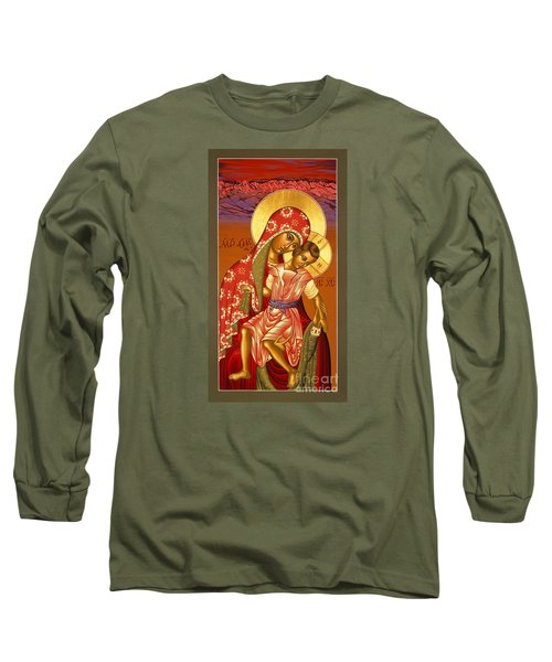 Nuestra Senora De Las Sandias 008 Long Sleeve T-Shirt by William Hart McNichols