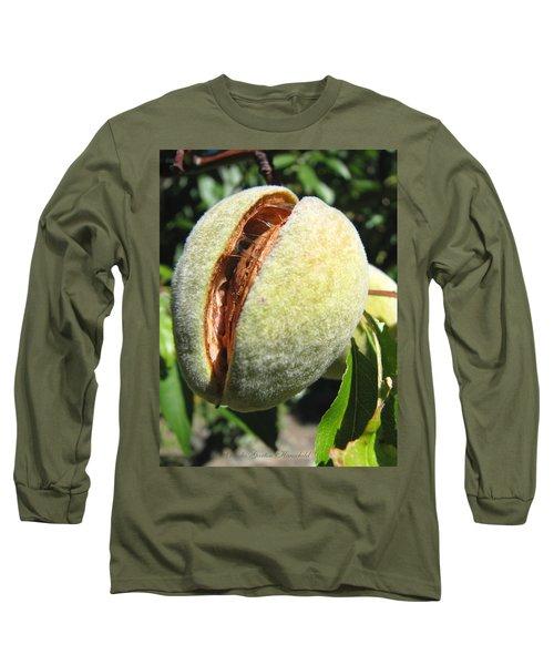 Long Sleeve T-Shirt featuring the photograph Nut Case by Brooks Garten Hauschild