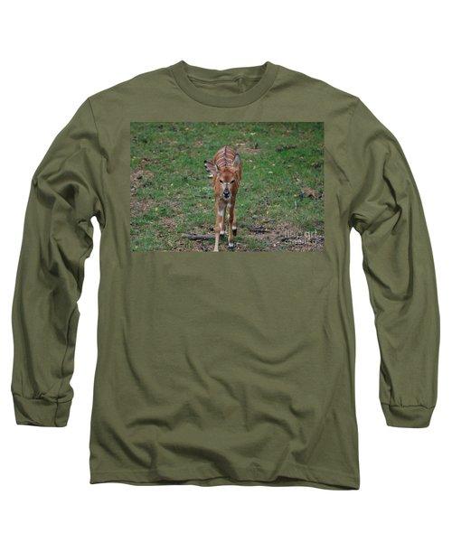 Nyala Long Sleeve T-Shirt by DejaVu Designs