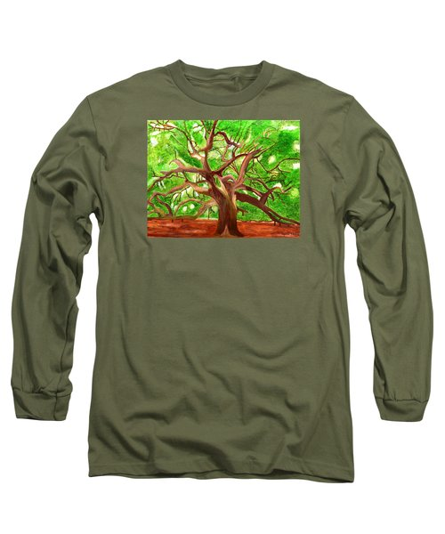 Oak Tree Long Sleeve T-Shirt by Magdalena Frohnsdorff
