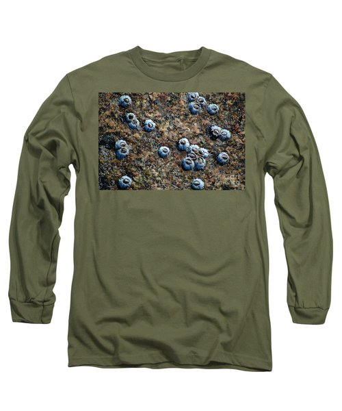 Long Sleeve T-Shirt featuring the photograph Ocean's Quilt by Christiane Hellner-OBrien