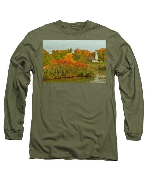 October Light Long Sleeve T-Shirt by Daniel Thompson