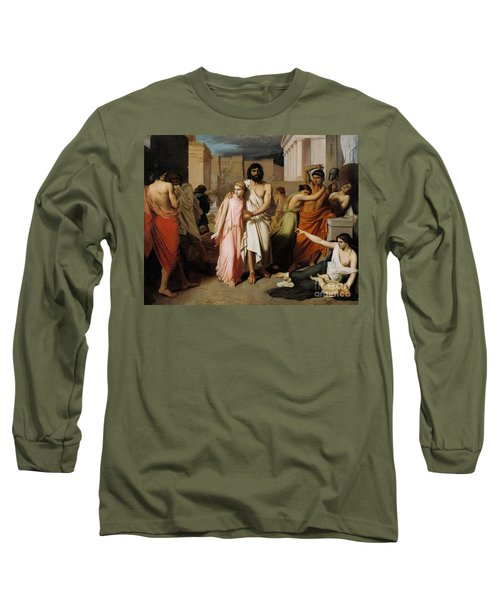 Oedipus And Antigone Or The Plague Of Thebes  Long Sleeve T-Shirt