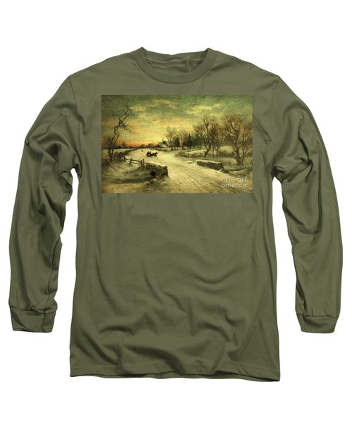 Off To Grandmas - Christmas Morning Long Sleeve T-Shirt