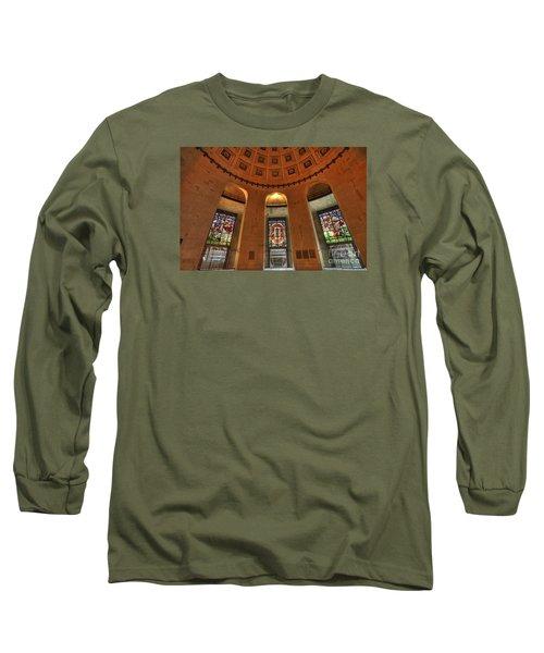 Ohio Stadium Long Sleeve T-Shirt by David Bearden