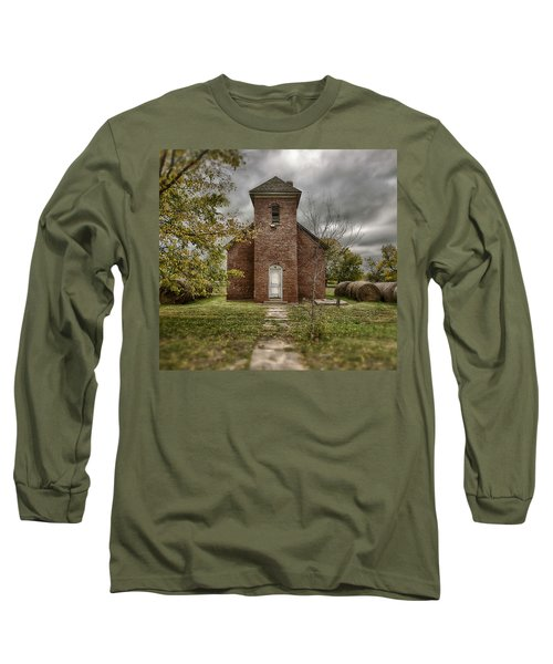 Old Church In Fall Long Sleeve T-Shirt