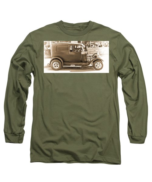 Old Ford Long Sleeve T-Shirt by Cathy Anderson