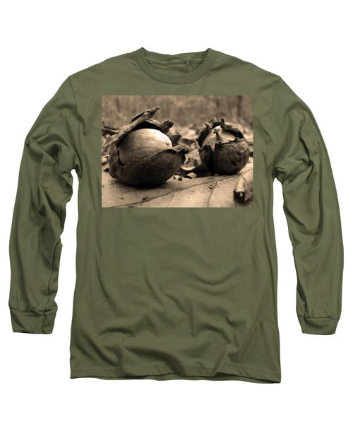 Old Friends Long Sleeve T-Shirt by GJ Blackman
