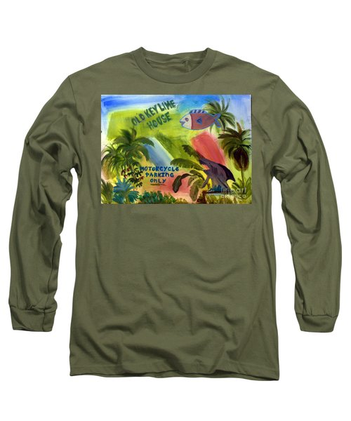 Old Key Lime House Long Sleeve T-Shirt