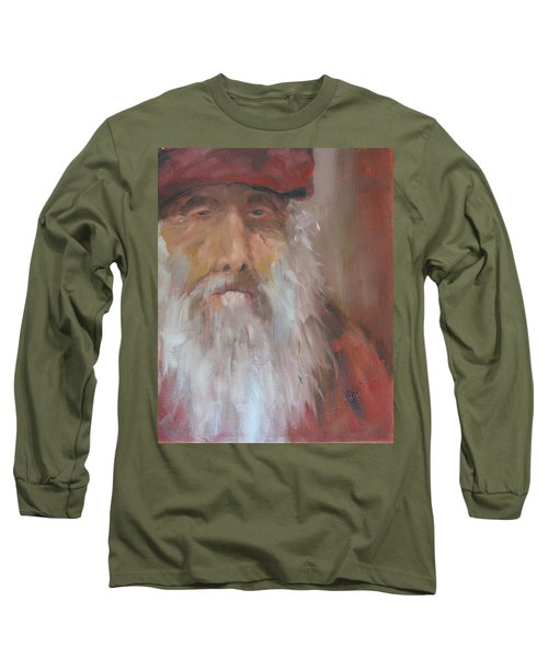 Old Salt Christo At 80 Long Sleeve T-Shirt